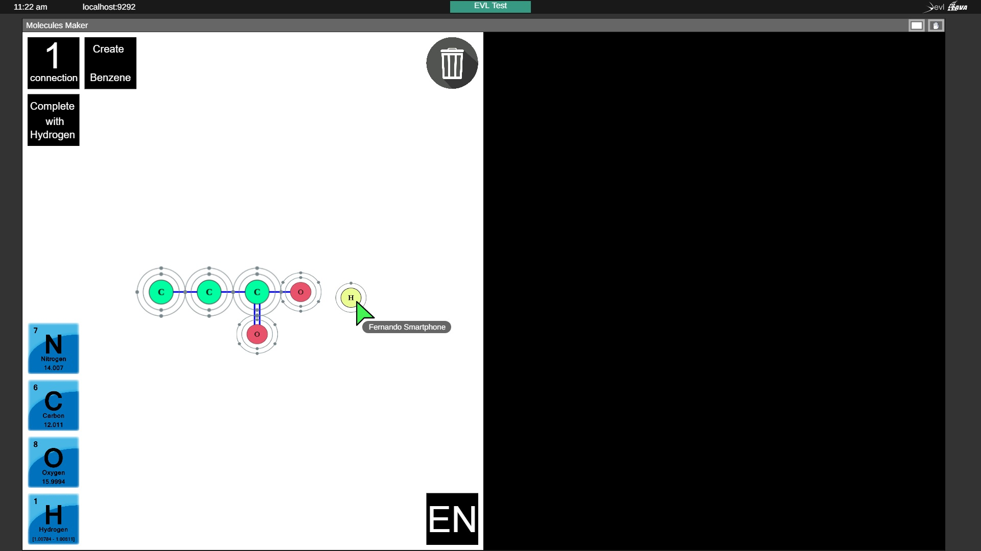 Build 2D Molecule