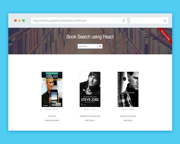 Book Search Preview