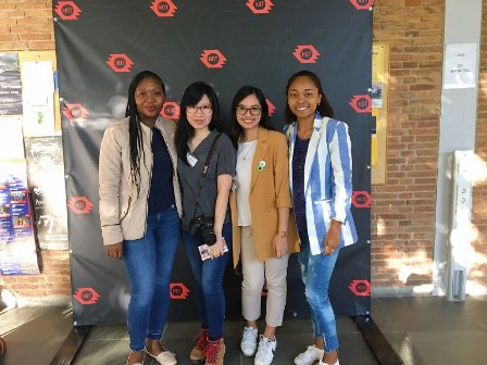 First photo with my SoTM roomies, Tshedy, Jen, (me) and Faneva