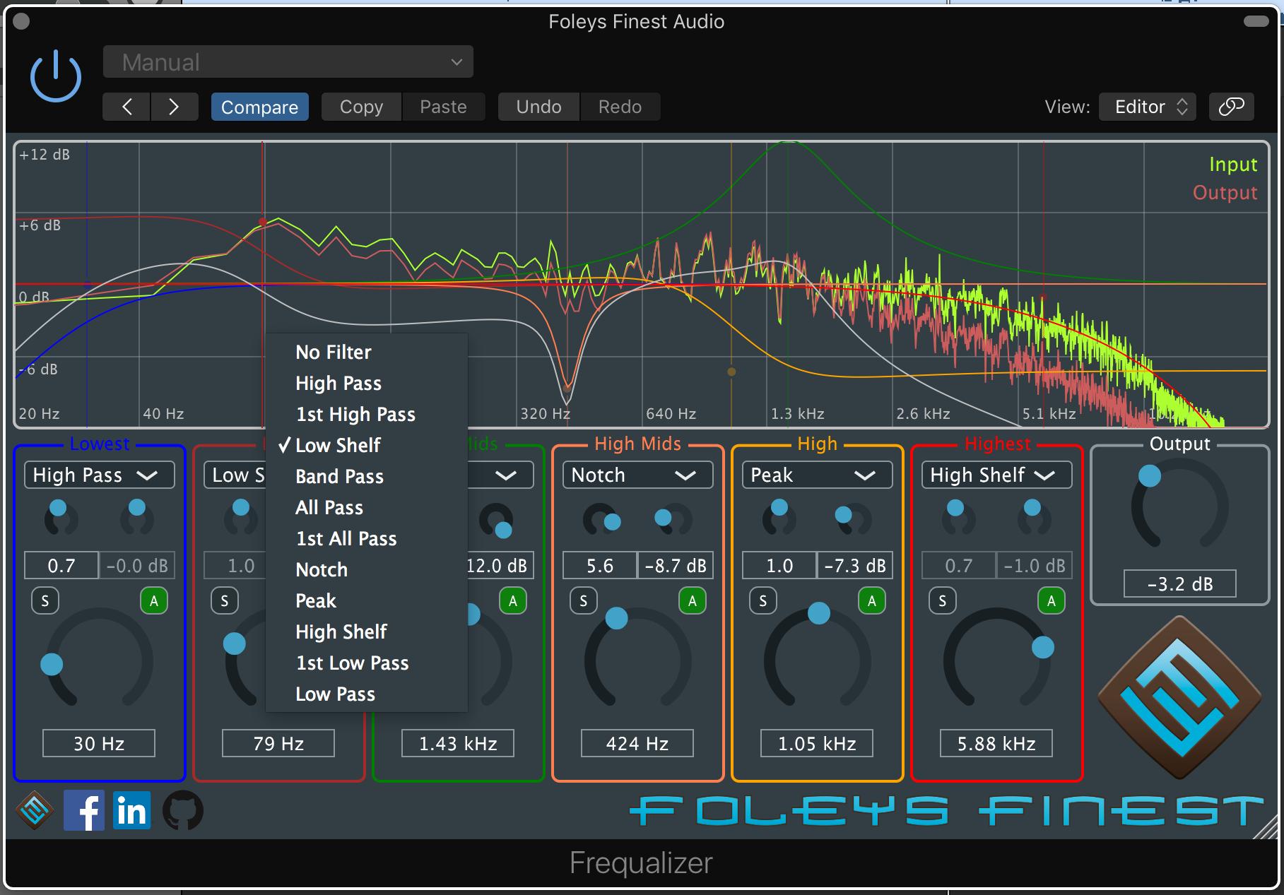Frequalizer Screenshot