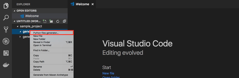 Image of Context menu