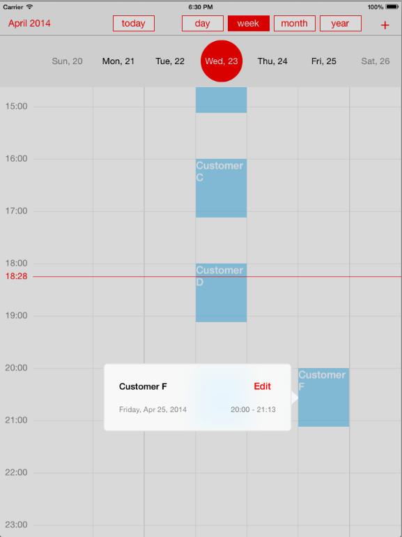 monthly weekly calendar