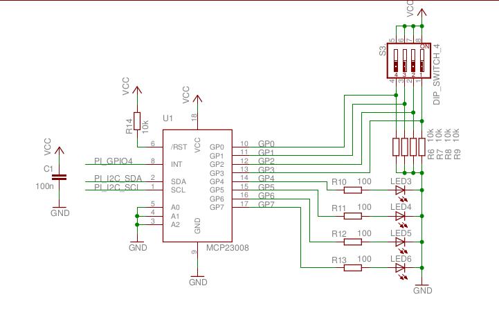 I2C schematic