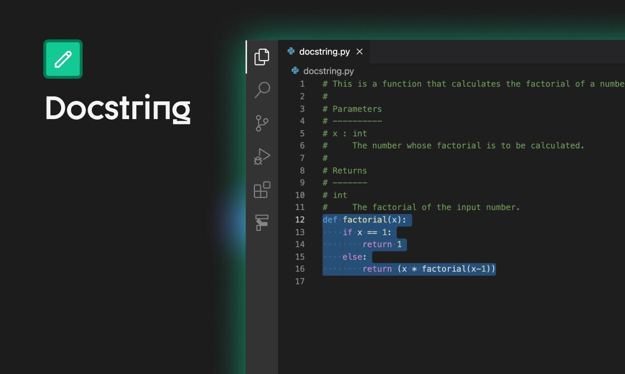 Write Docstring