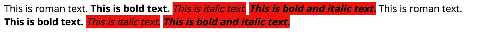 Faux Italic Open Sans