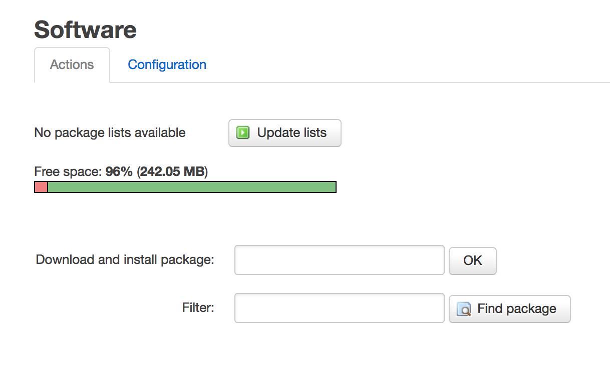 Install OpenWrt on Raspberry Pi 1B Model - Final Blog