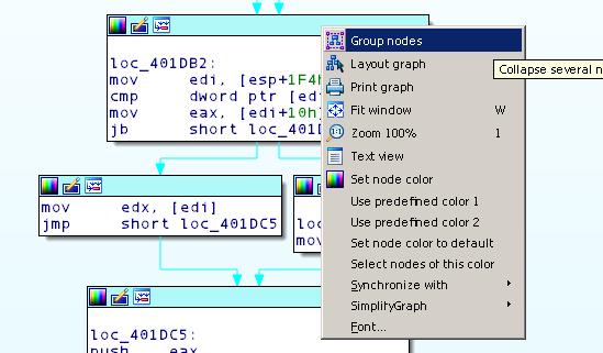 Figure 2: Manual group creation