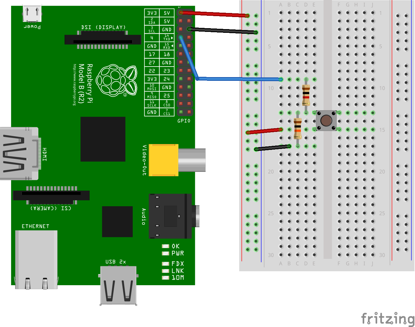 GitHub - fivdi/gpio-button: Hardware momentary push-buttons the