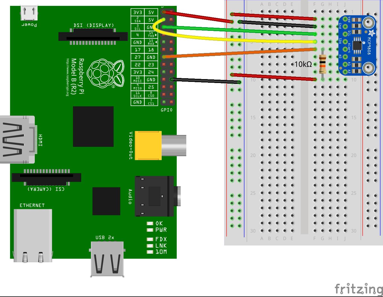 GitHub - fivdi/mcp9808-temperature-sensor: MCP9808 I2C temperature
