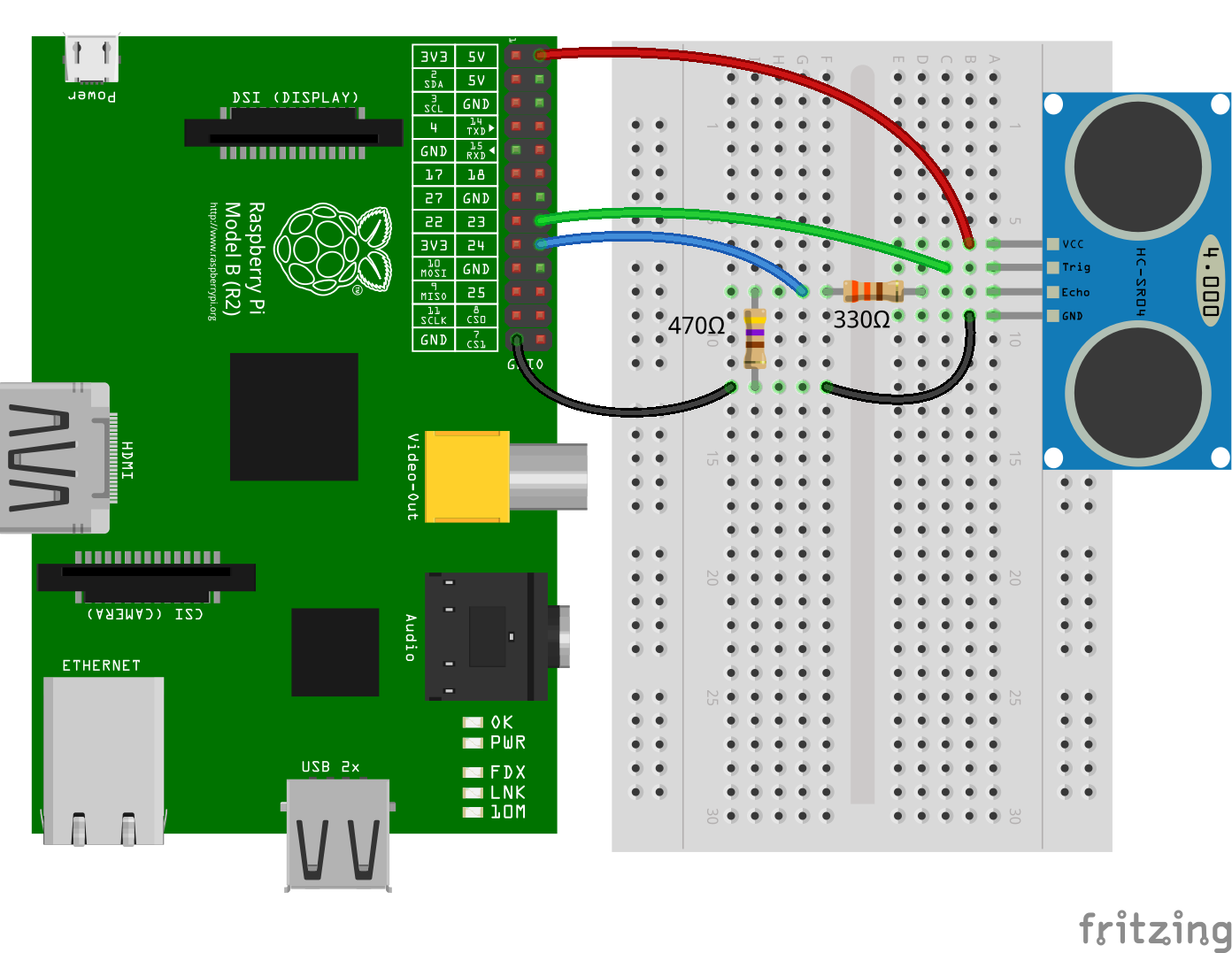 Wiringpi Python Serial Example Github Fivdi Pigpio Fast Gpio Pwm Servo Control State Change The Number Of Microseconds It Takes Sound To Travel 1cm At 20 Degrees Celcius Const Microsecdonds Per Cm 1e6 34321 Trigger New Gpio23