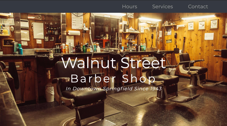 Walnut Street Barber