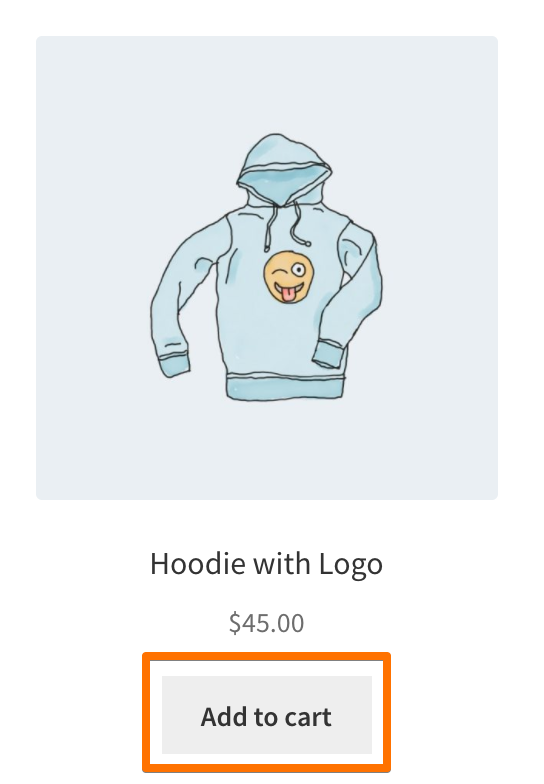 Hoodies - Add To Cart button