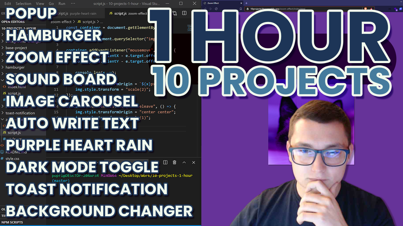 1Hour10Projects