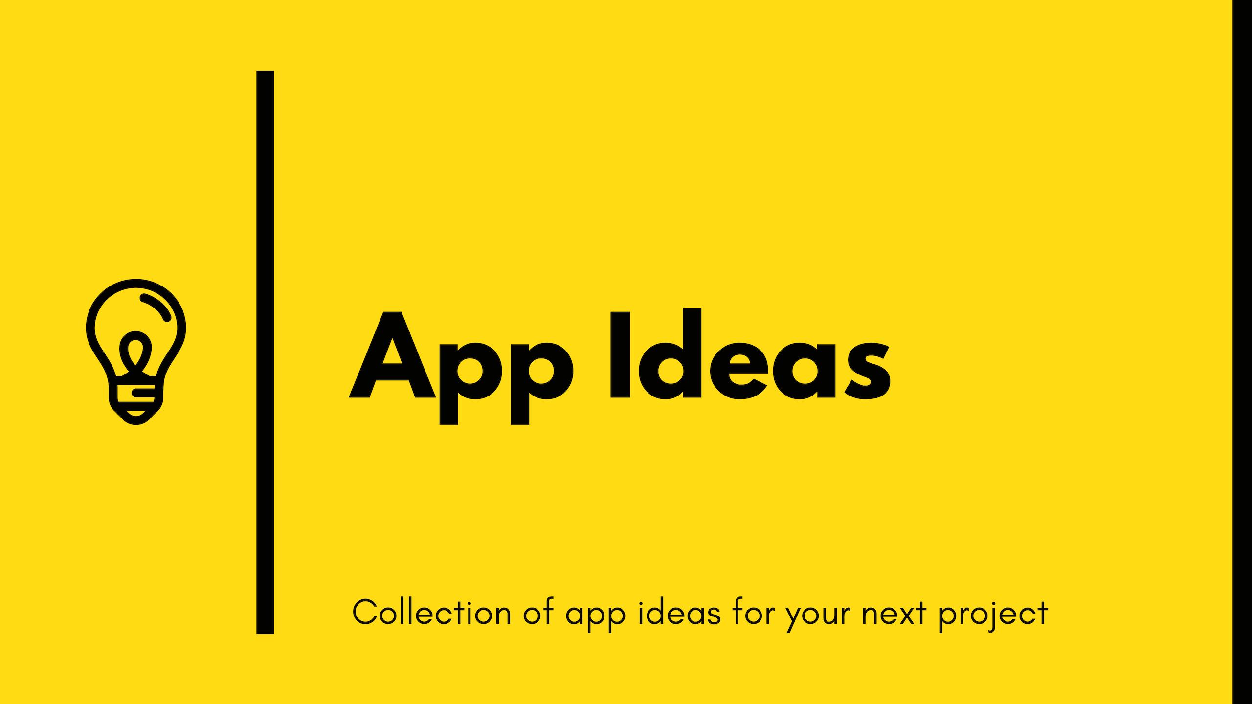 App Ideas Image