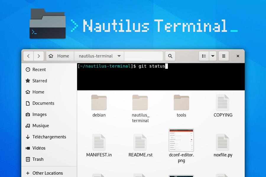 Nautilus Terminal Screenshot
