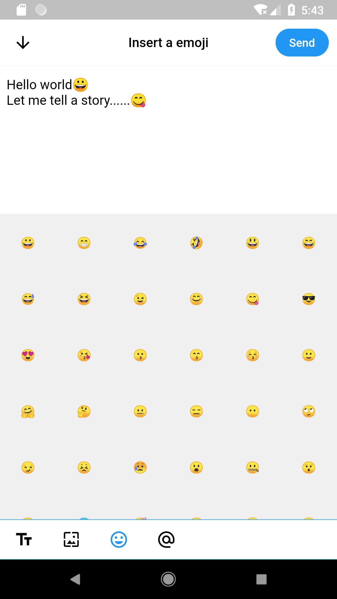 A social messging App UX with Flutter | Mobile App Development