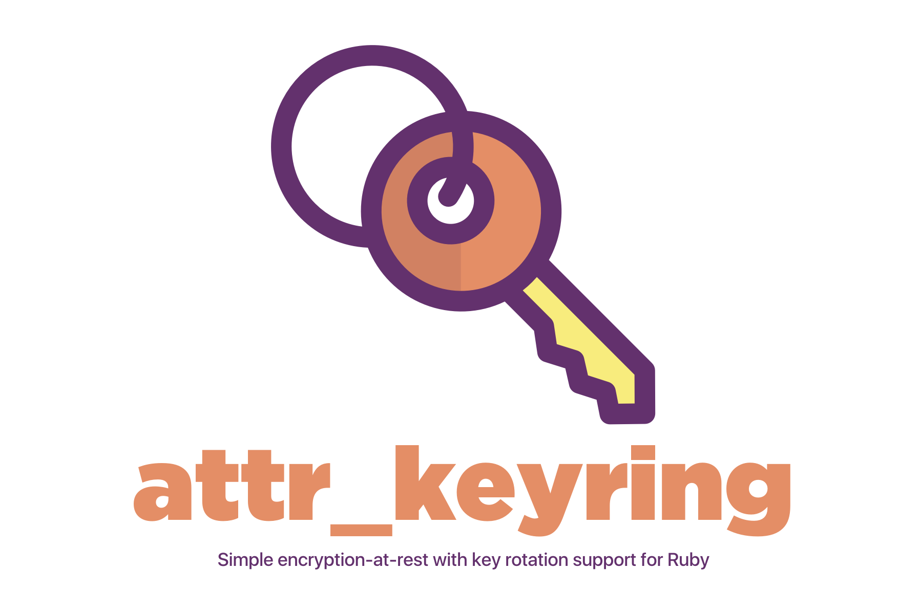 attr_keyring: Simple encryption-at-rest with key rotation support for Ruby.