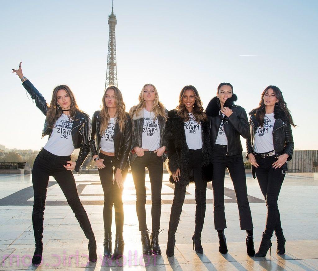 Lily Aldridge & Adriana Lima & Jasmine Tookes & Elsa Hosk & Josephine Skriver & Alessandra Ambrosio
