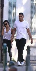 Kourtney Kardashian is with her beloved