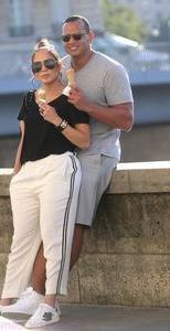 Jennifer Lopez is with her beloved
