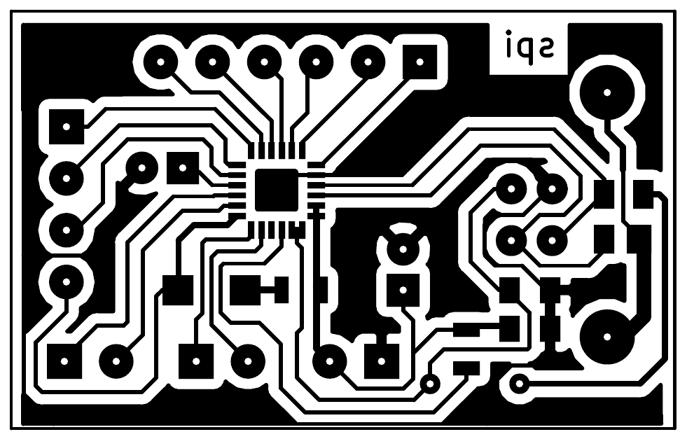 USB to SPI pcb