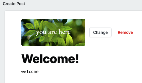 Include the #welcome tag on your welcome post