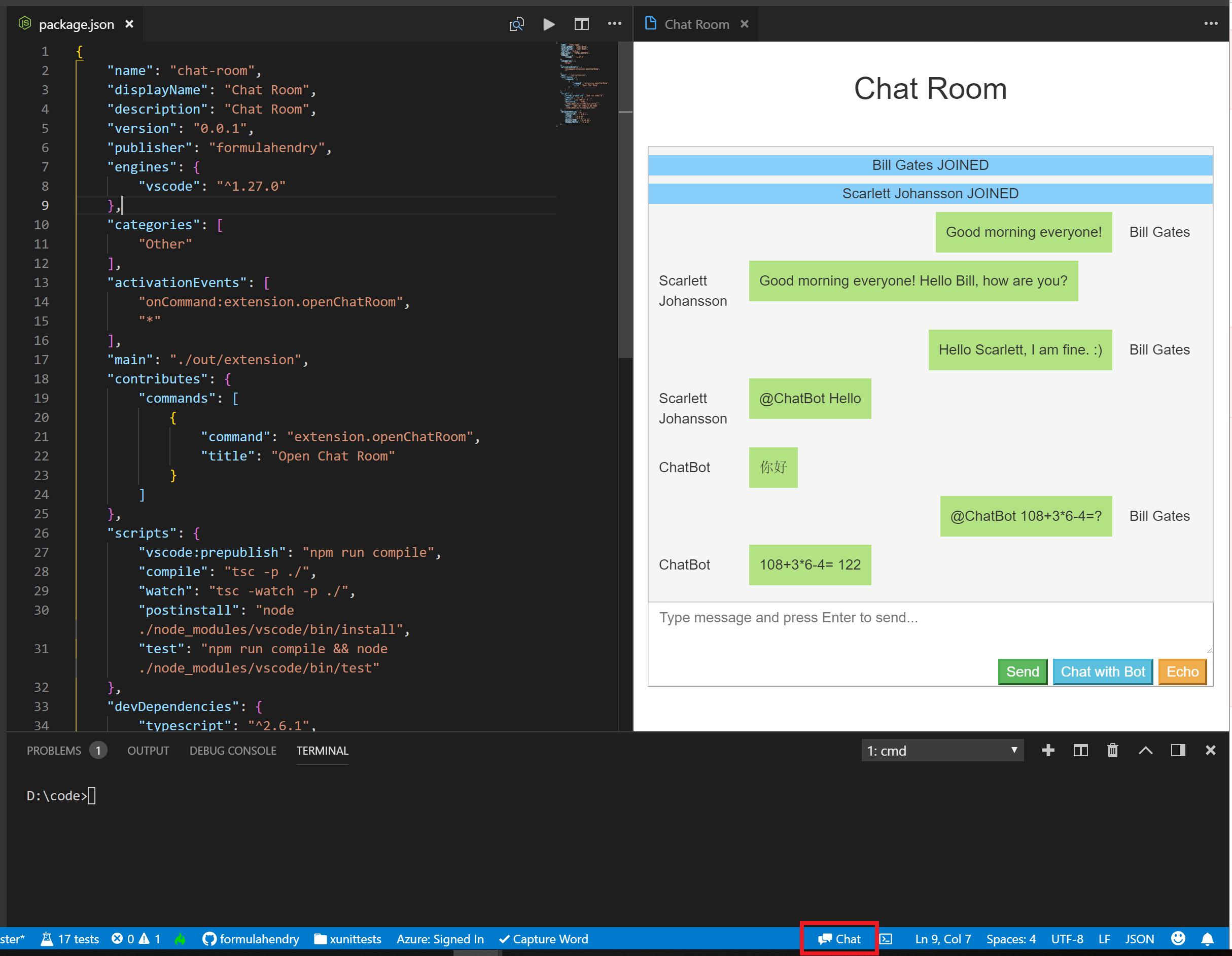 vscode-chat-room