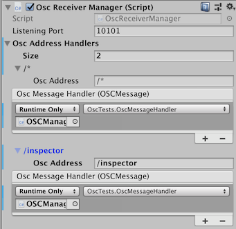 The Osc Receiver Manager