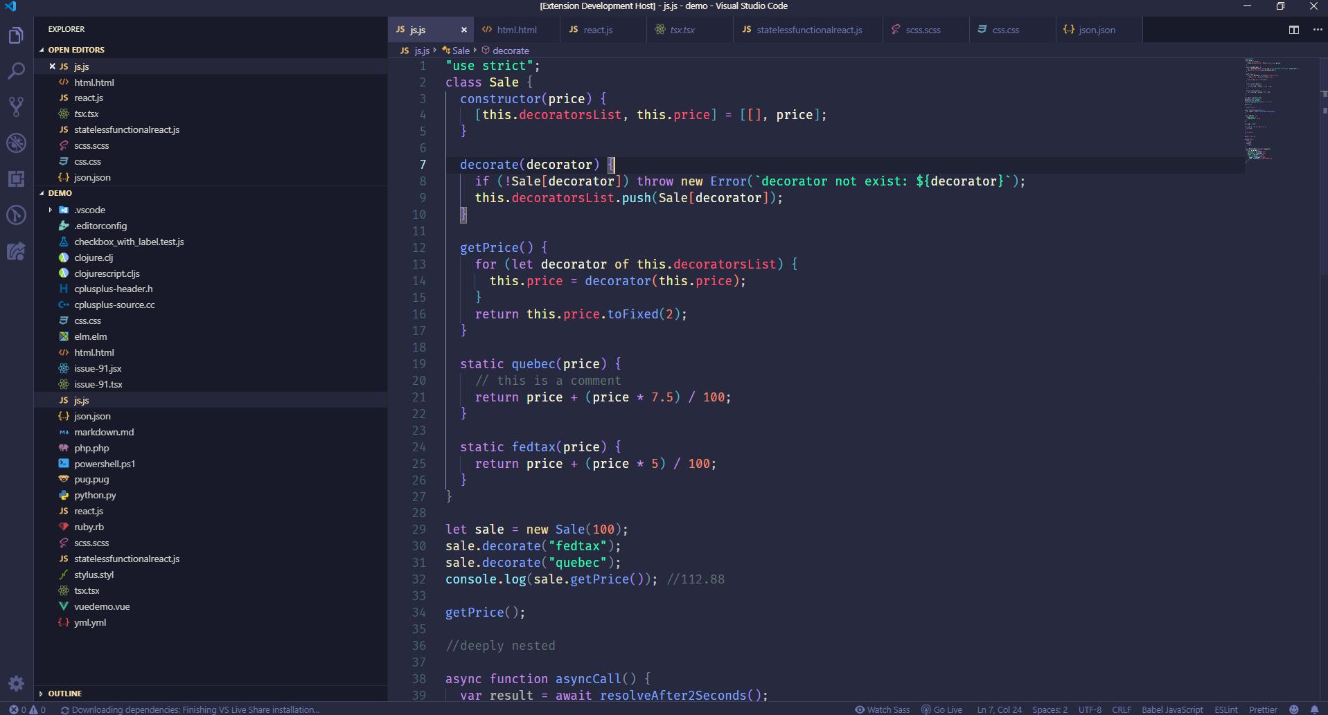 FORXTU JavaScript