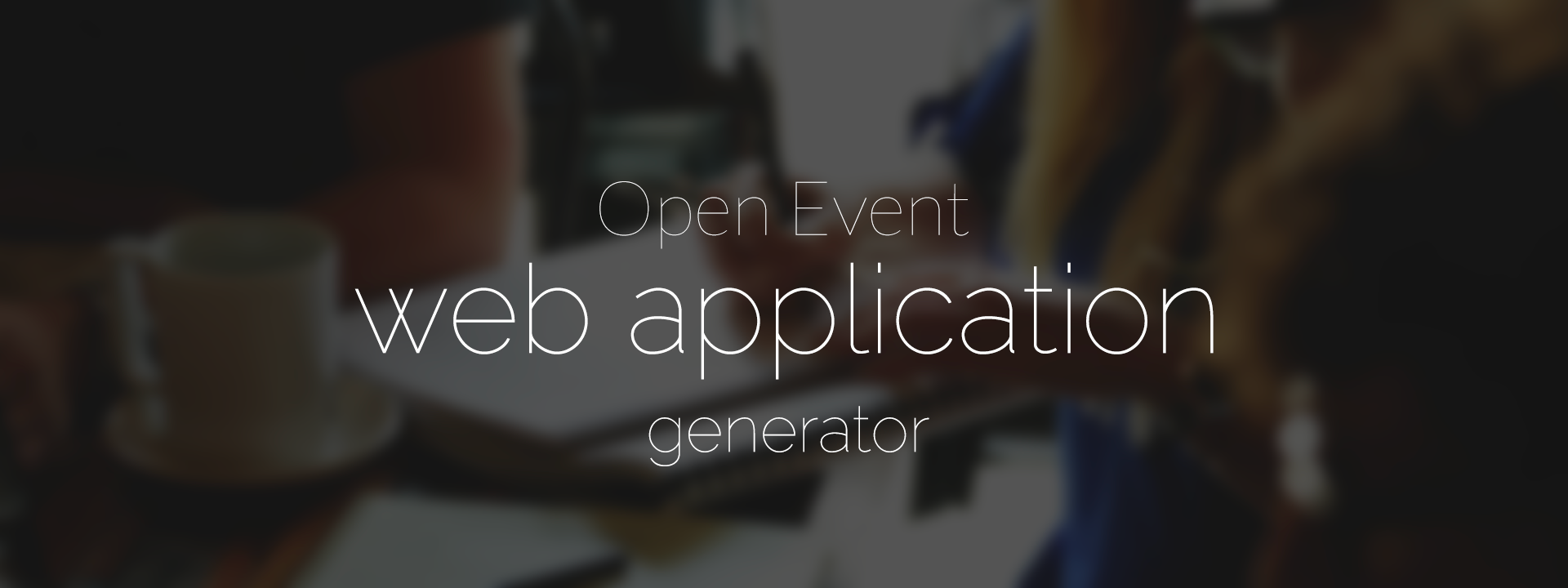 Open Event webapp