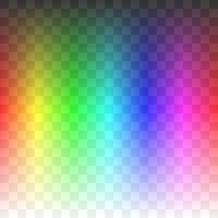 rainbow alpha