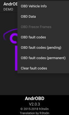 Screenshot of functions