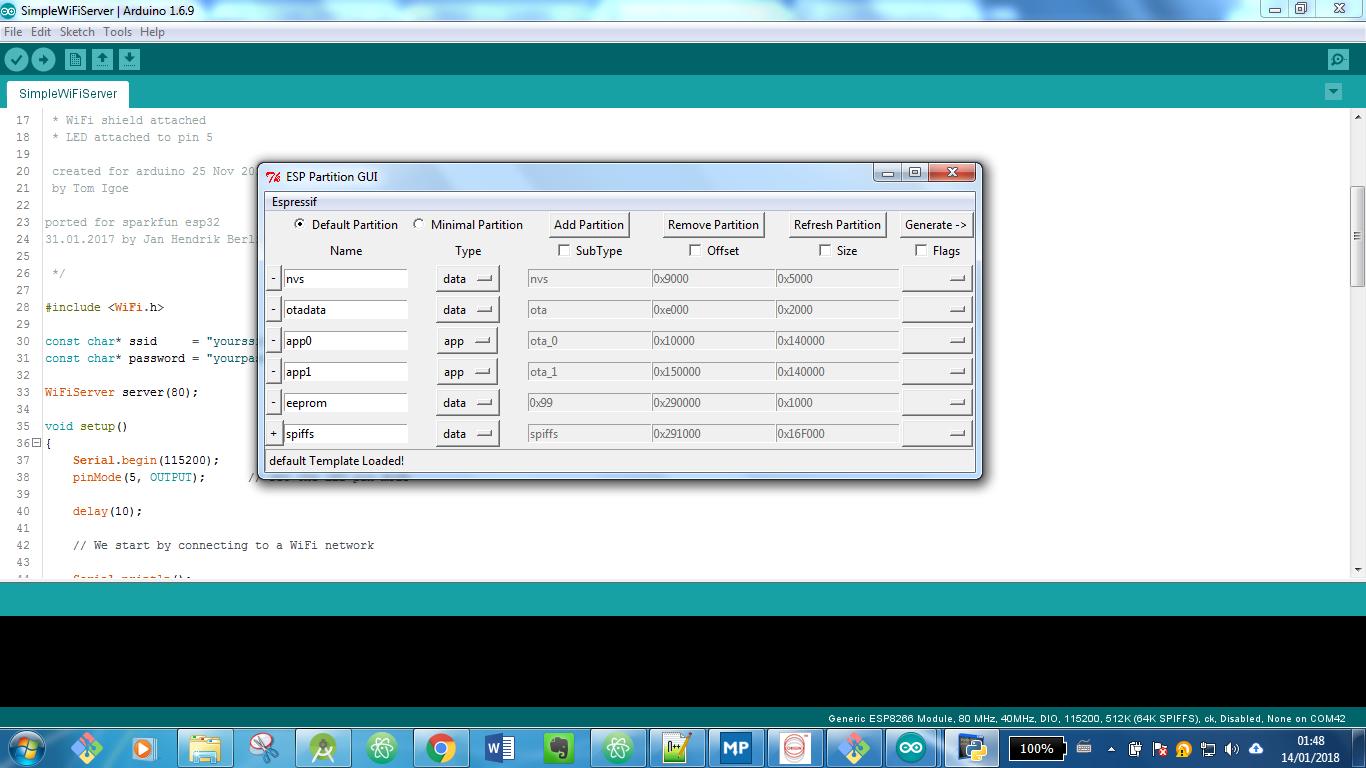 GitHub - francis94c/ESP32Partitions