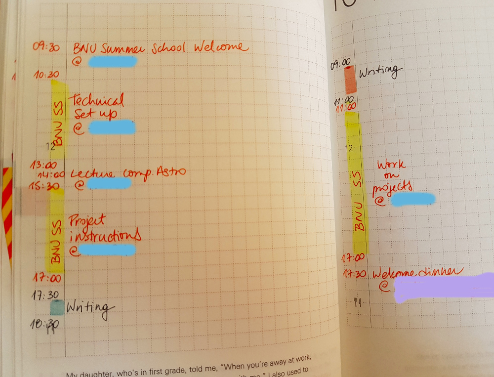 Weekly tracking