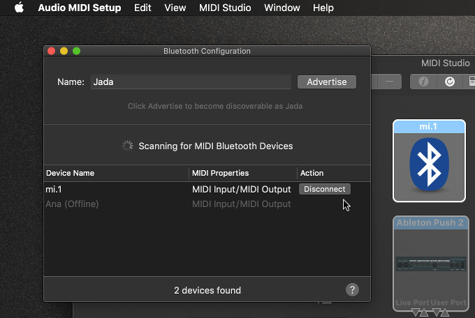 Mac Audio Setup Application