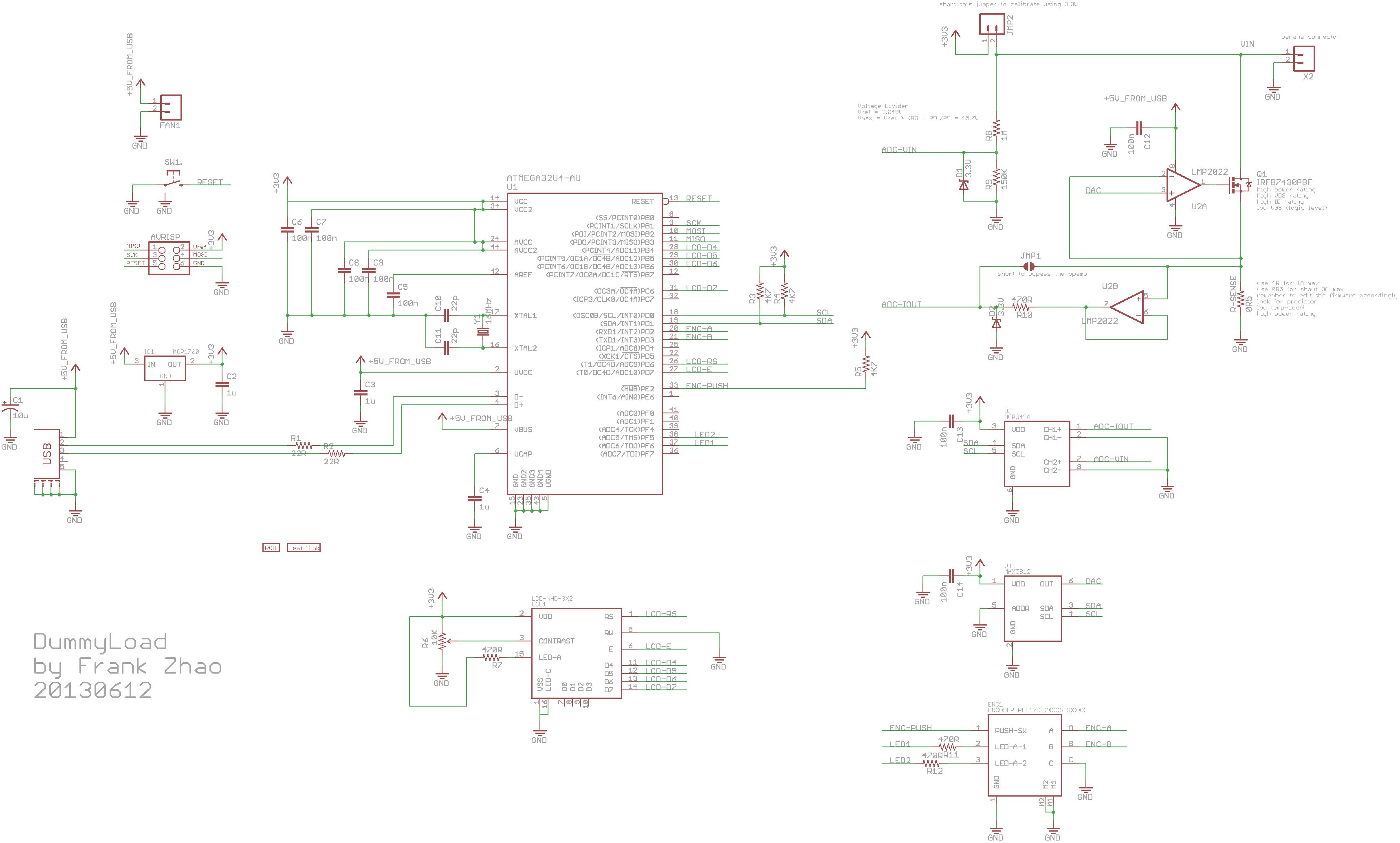 dc dummy load circuit calibration