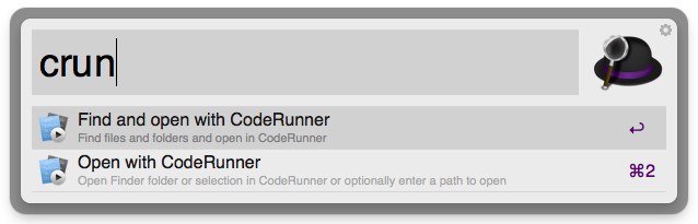 Open With CodeRunner Screenshot