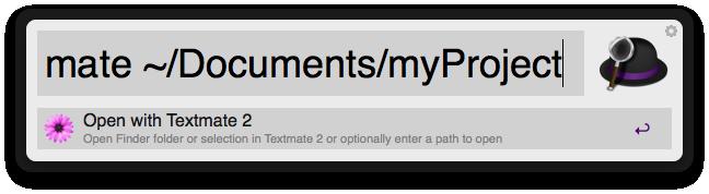 Open With TextMate 2 Screenshot
