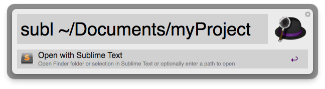 Open With Sublime Text 2 Screenshot