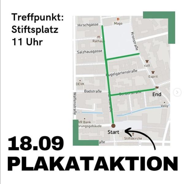 Plakataktion SharePic