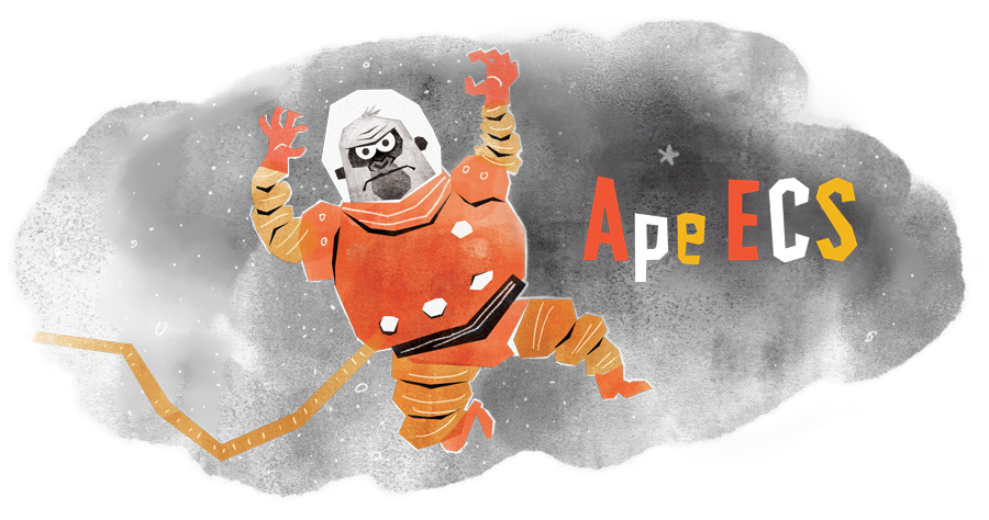 Ape-ECS Hero
