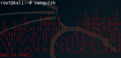 GitHub - frizb/Vanquish: Vanquish is Kali Linux based