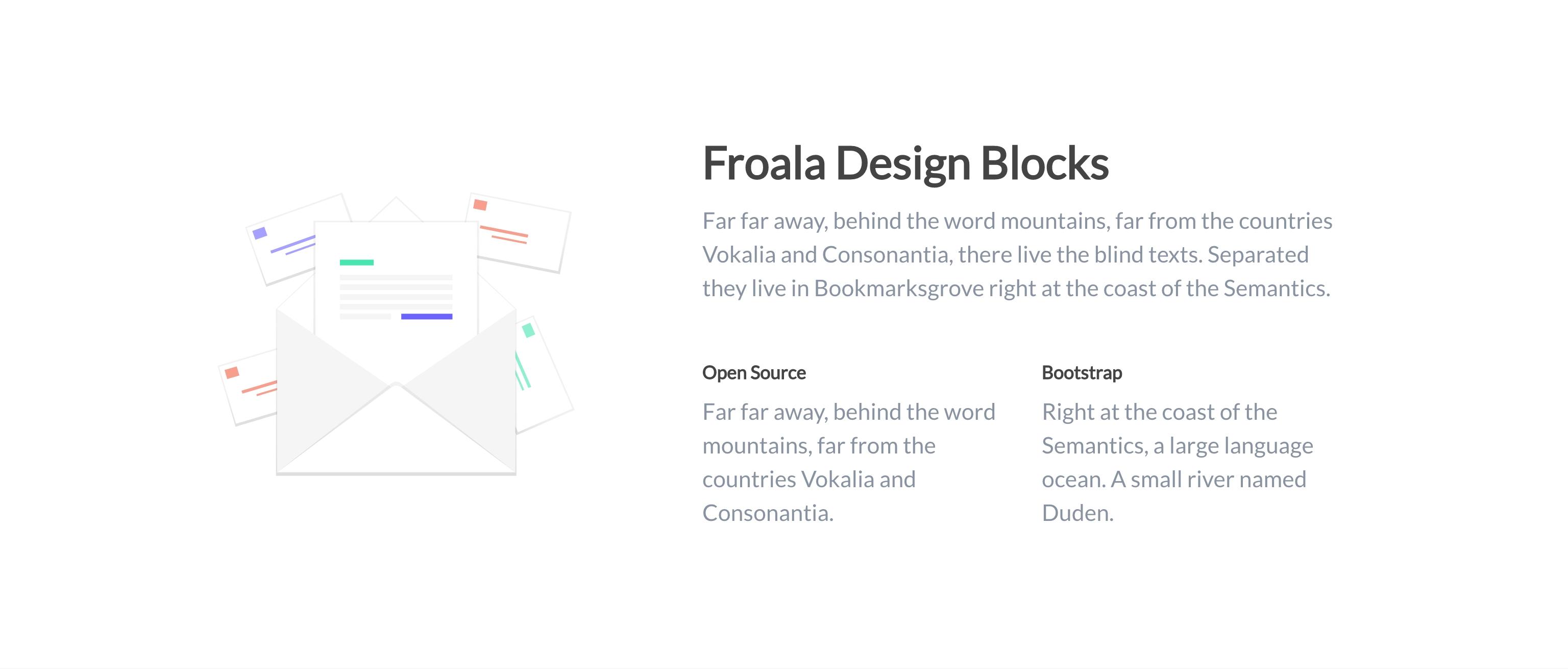 Design Blocks Froala Block Diagram Software View Examples And Templates Contents 35