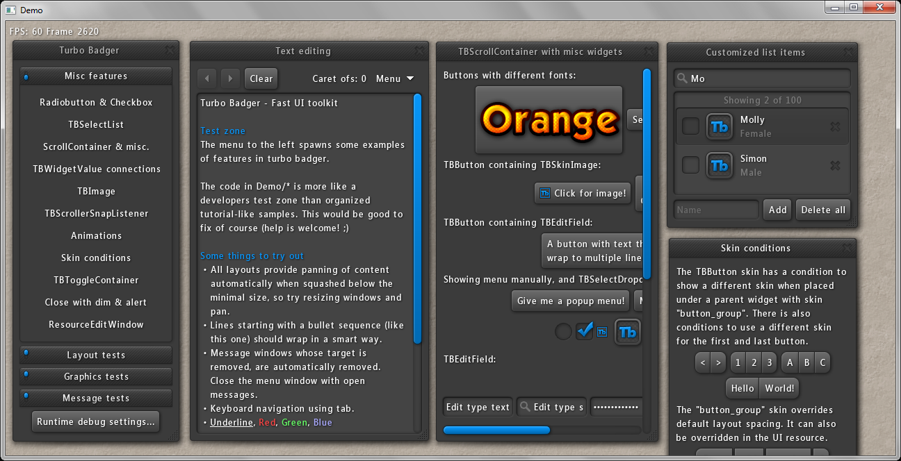 Integrating 3rd-party UI - Feature Request - Urho3D