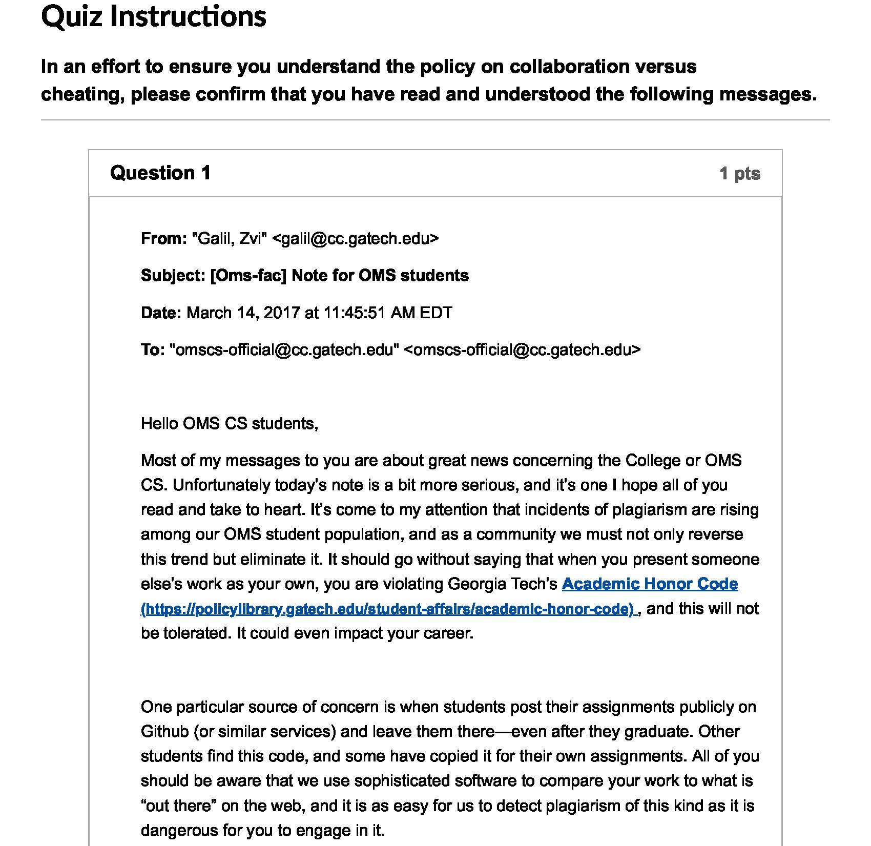 GIOS Collaboration Quiz Part 1