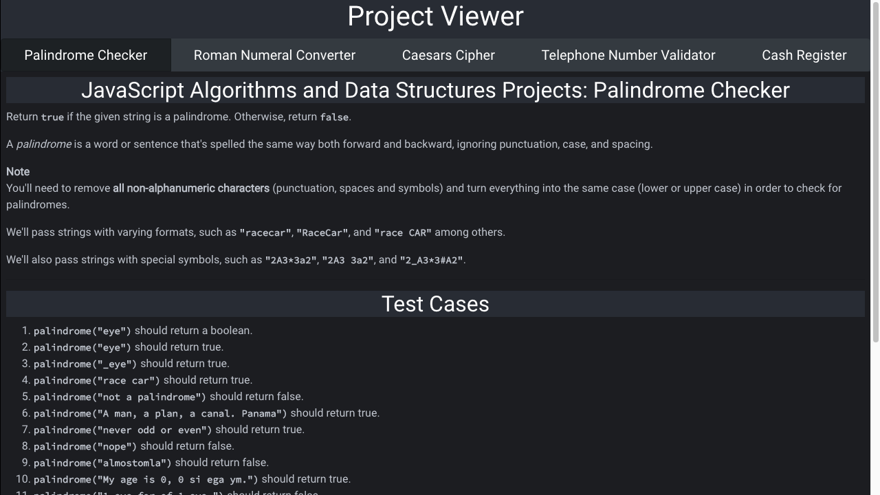 javascript algorithms and data structures viewer