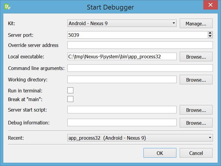Attach To Running Debug Server