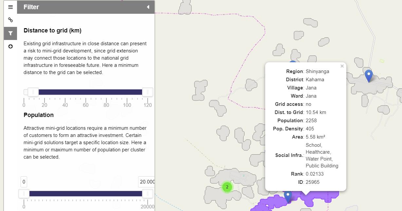 webmap tanzania