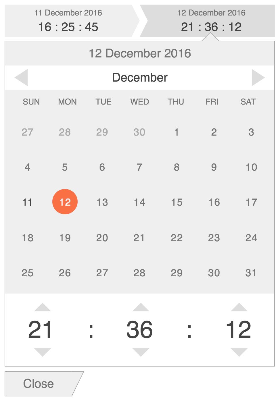 Angular directive datetime range input - datetime range (expanded)