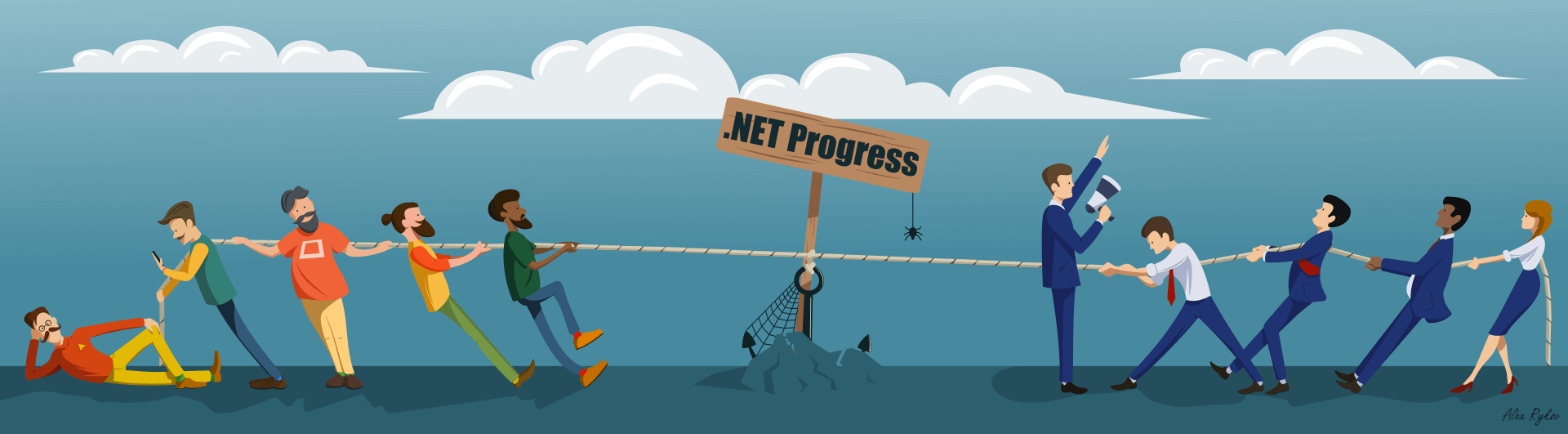 .NET Progress ca. 2012 - 2018